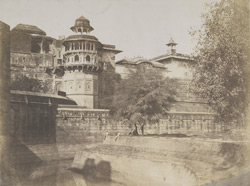 East face of the Fort, [Agra]